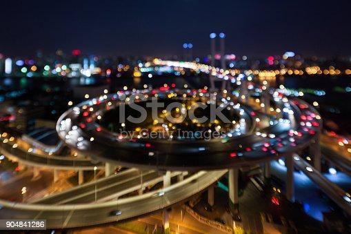 599471112istockphoto Shanghai flyover at night 904841286