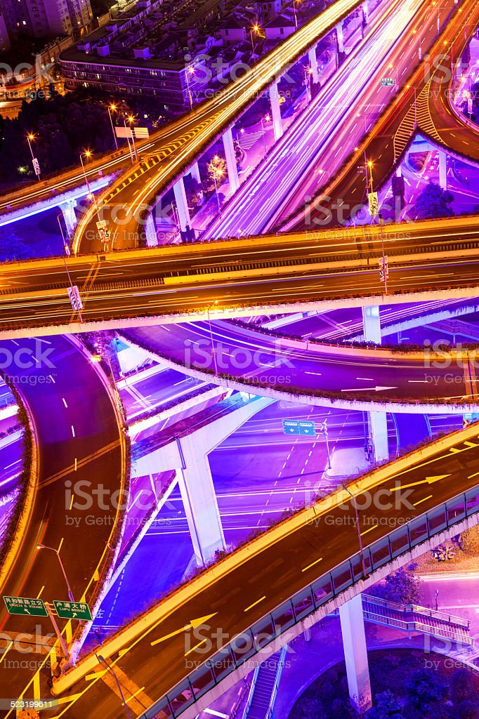 Shanghai Highway stock photo