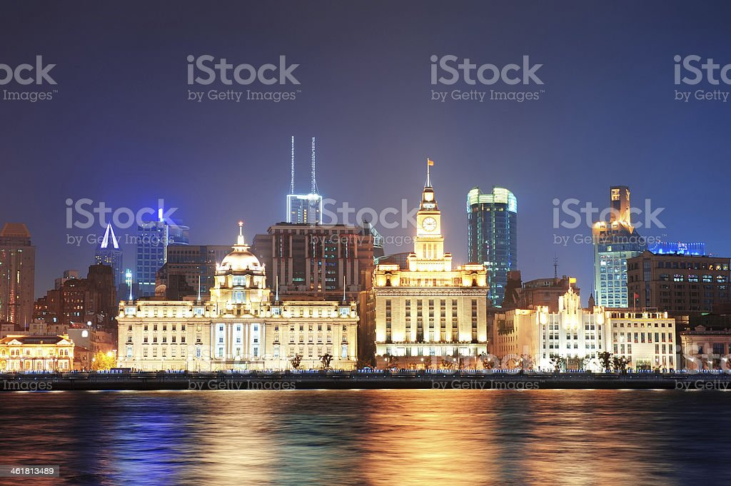 Shanghai historic architecture stock photo