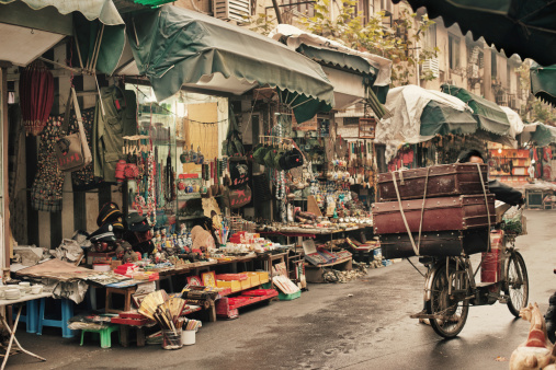 Shanghai knick knack shops