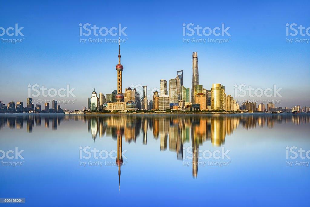 Paysage de shanghai photo libre de droits