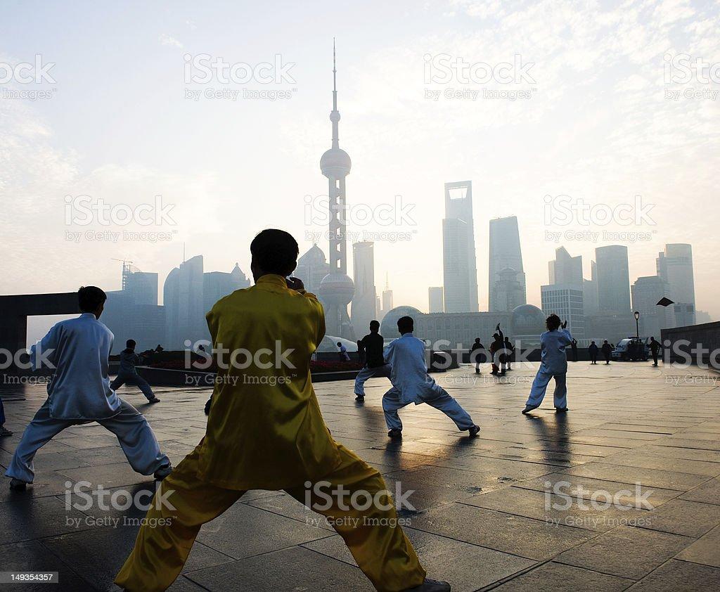 shanghai life stock photo