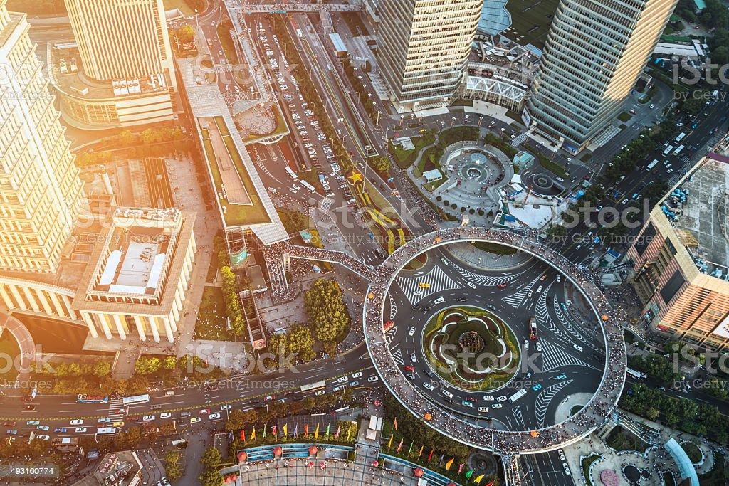 Shanghai Lujiazui Motiv – Foto