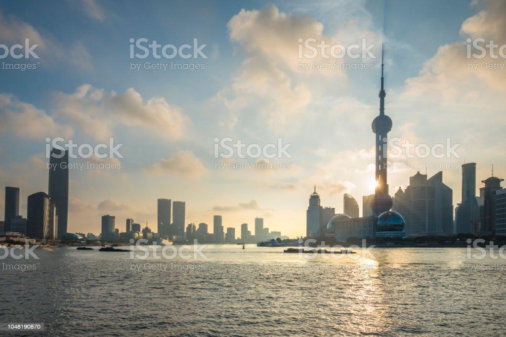 shanghai ,morden city stock photo