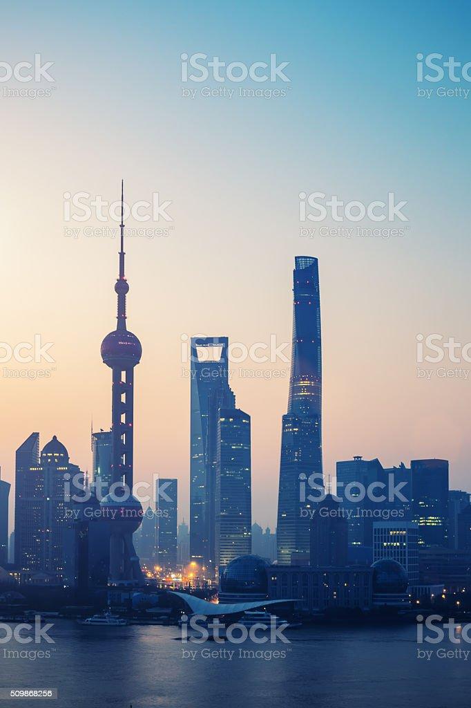 Shanghai Morning stock photo
