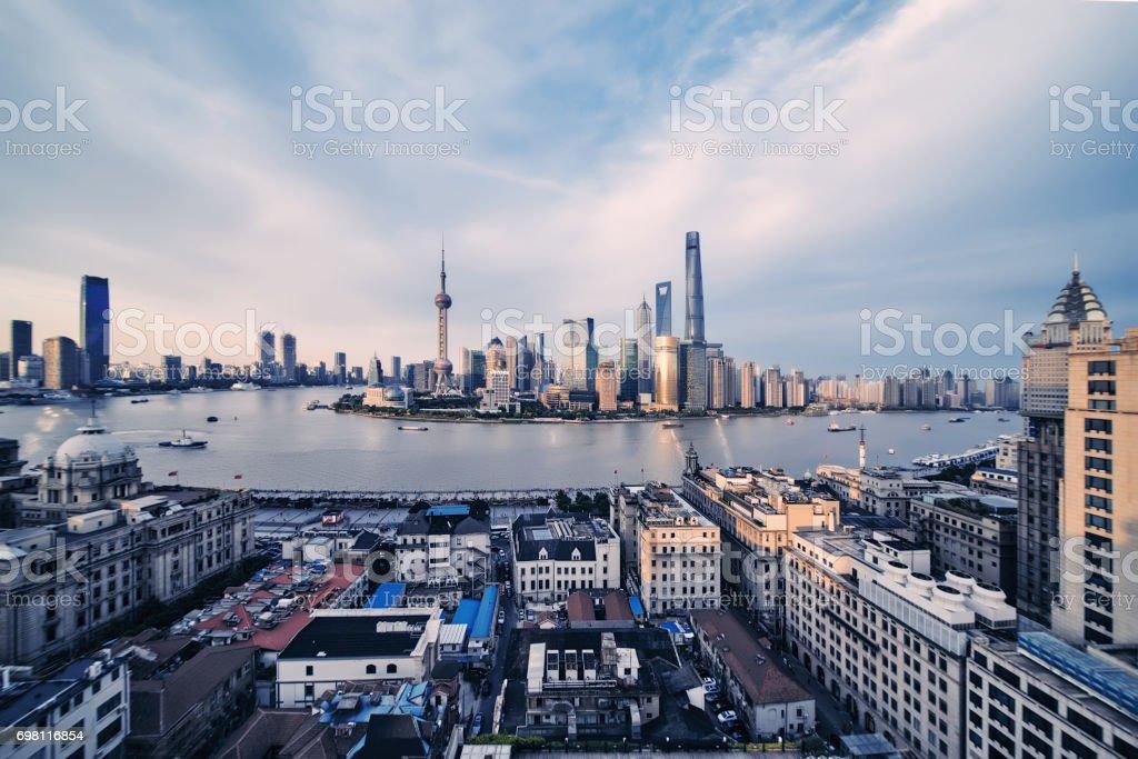 shanghai-panorama – Foto