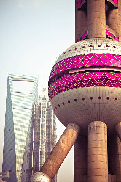 shanghai cityscape of shanghai oriental pearl tower shanghai stock pictures, royalty-free photos & images