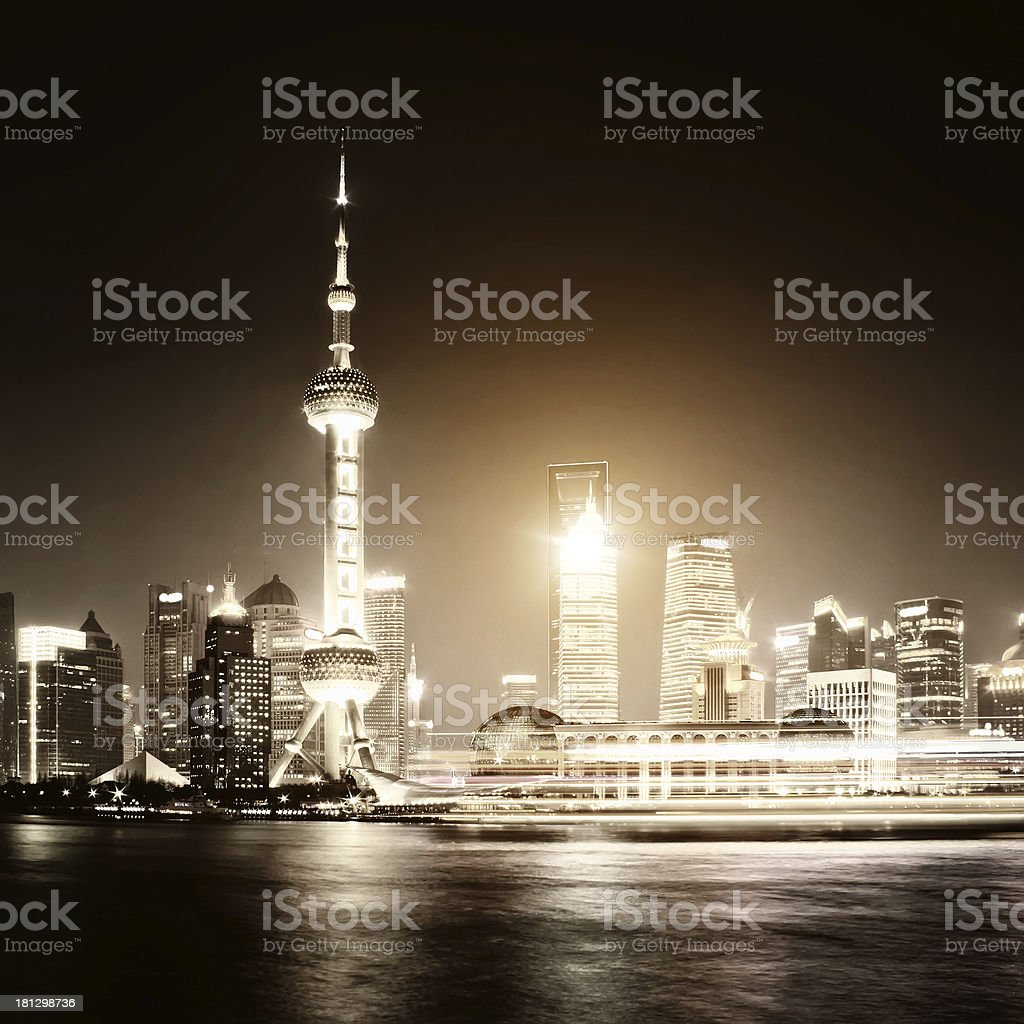 shanghai royalty-free stock photo