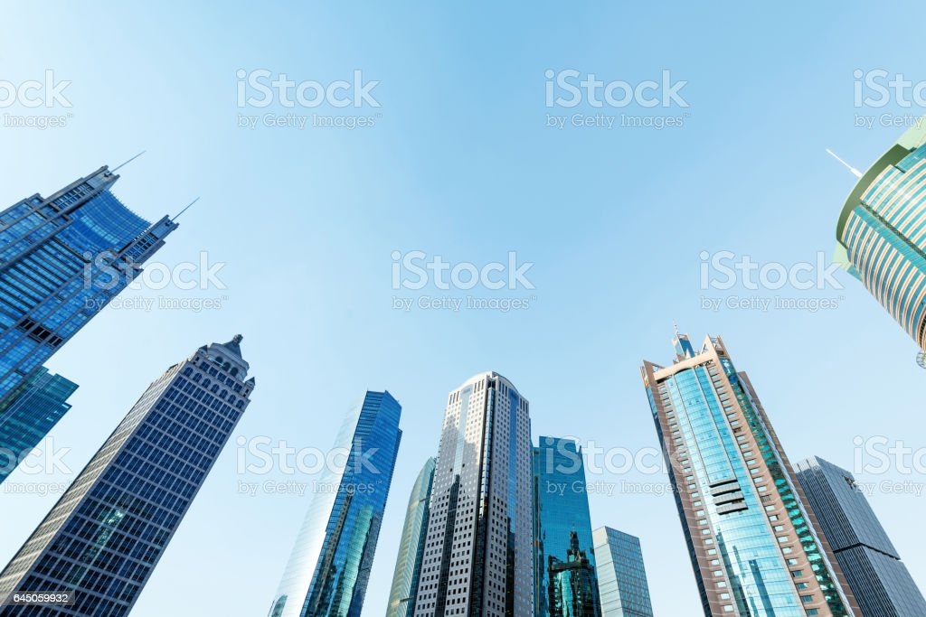 Shanghai 's landmarks stock photo