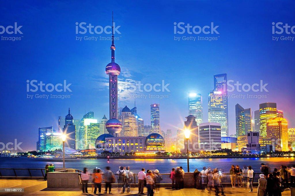 Shanghai Skyline stock photo
