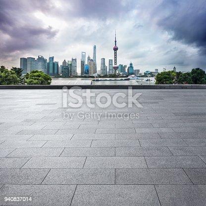 istock Shanghai Skyline 940837014