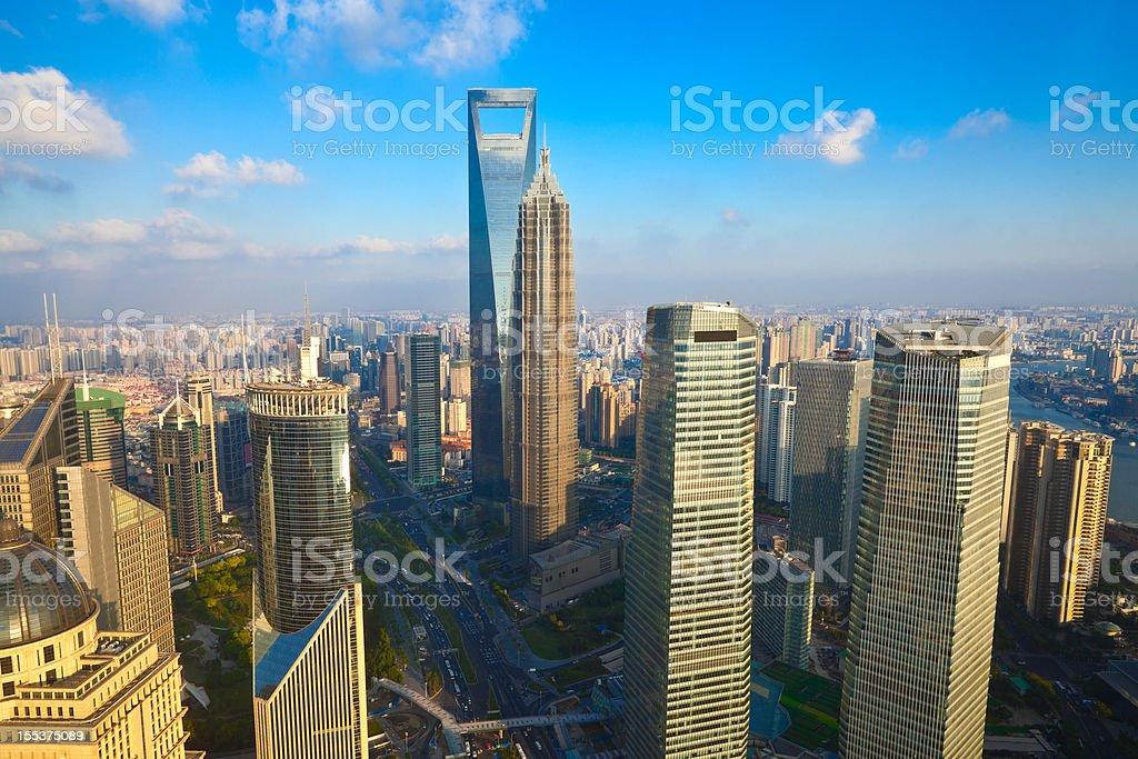 Shanghai Skyline,China royalty-free stock photo