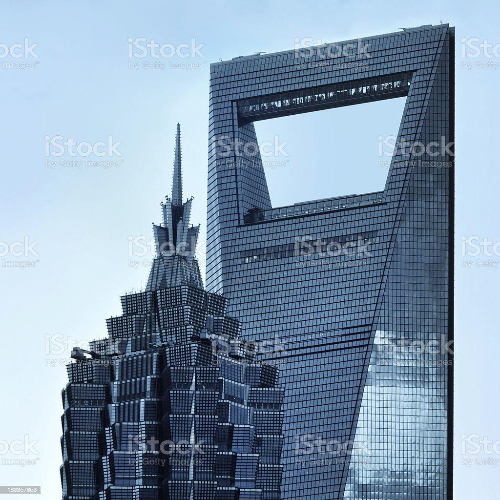 Shanghai Skyscraper royalty-free stock photo