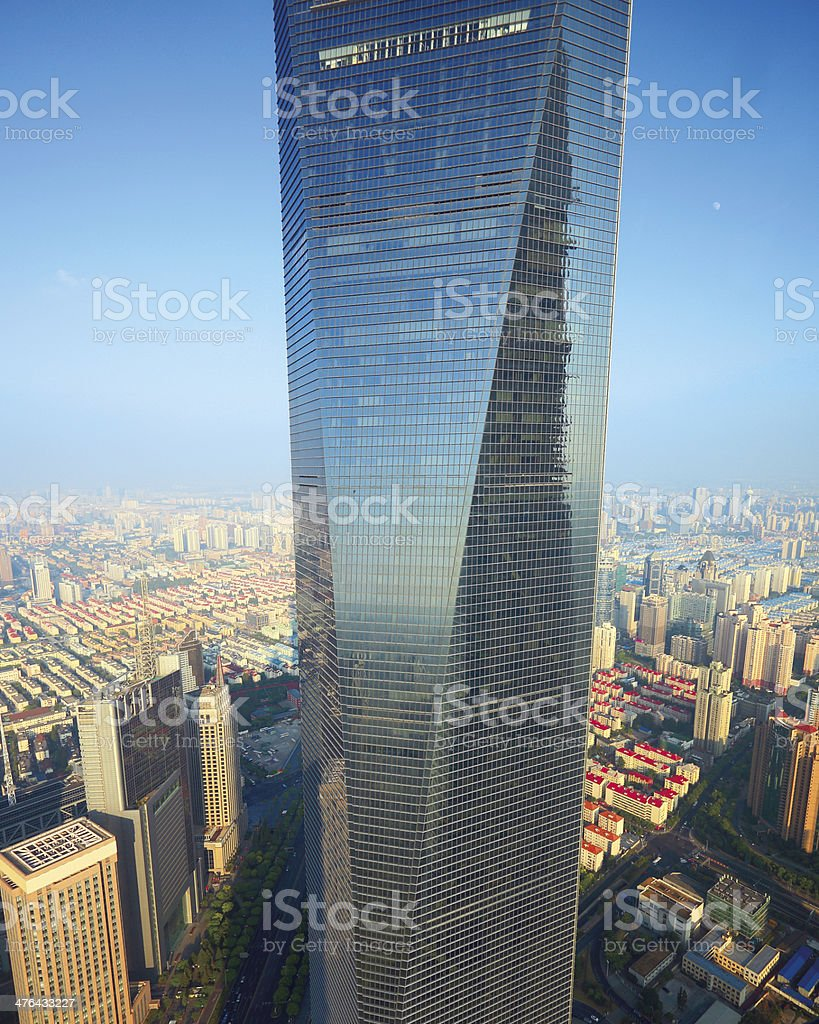 Shanghai, skyscraper stock photo