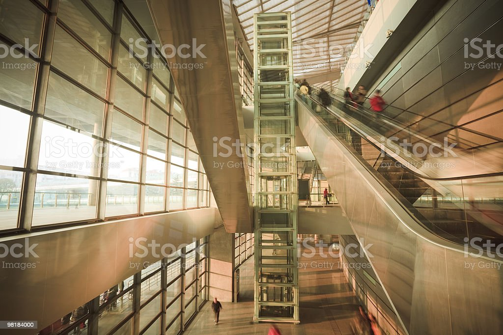 shanghai south railway station royalty-free stock photo