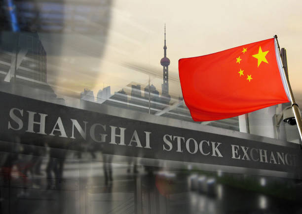 Shanghai Stock Exchange. – Foto