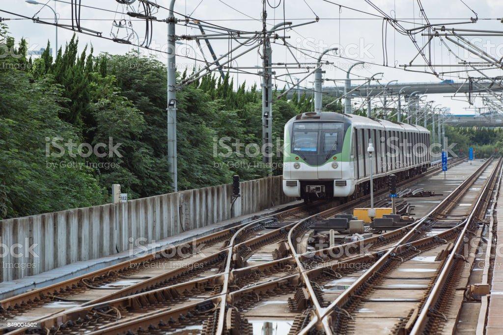 Shanghai subway stock photo