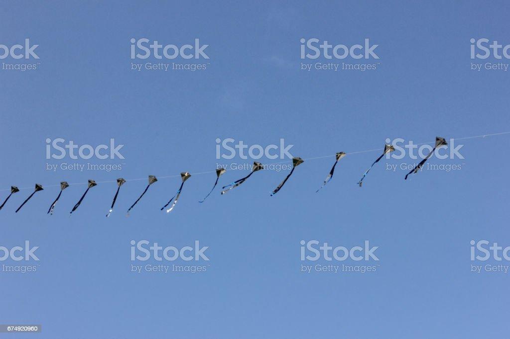 shanghai the bund kite fly one sunny morning royalty-free stock photo
