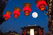 istock shanghai Yu yuan gardens at night,mid-autumn, 488475980