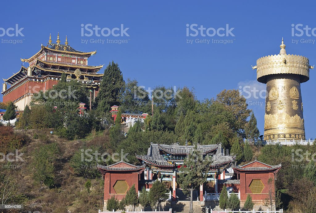 Shangri-La, China stock photo