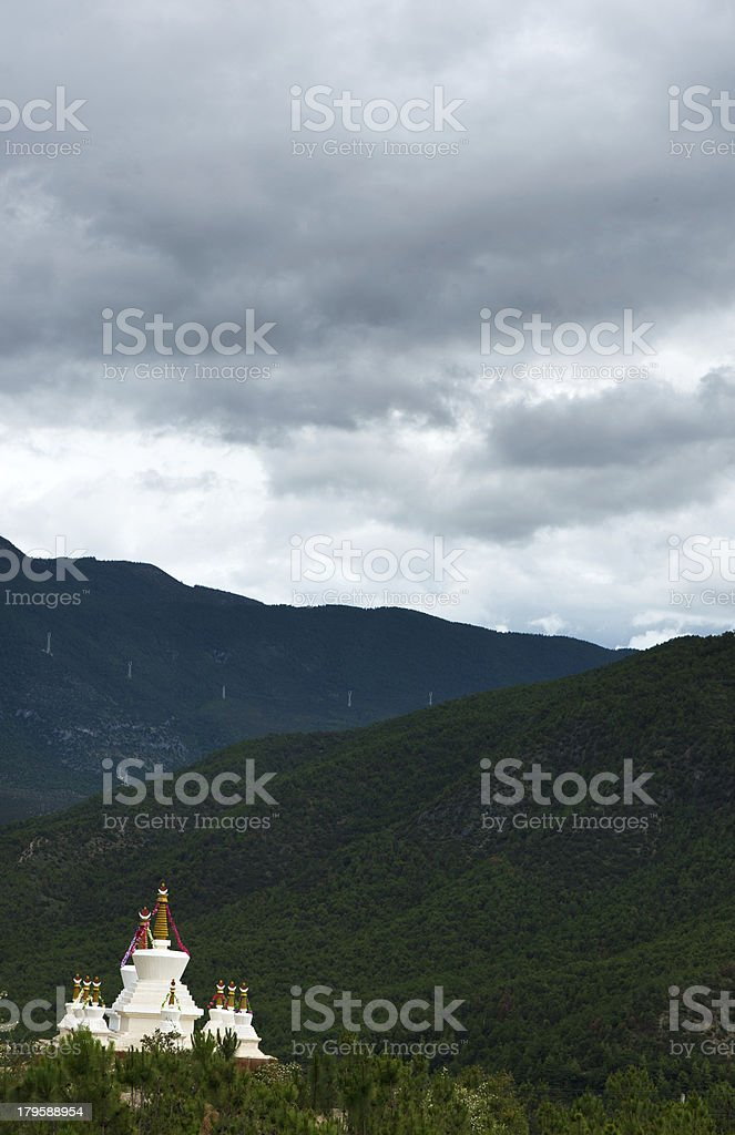 Shangri-La in Yunnan Tourism royalty-free stock photo
