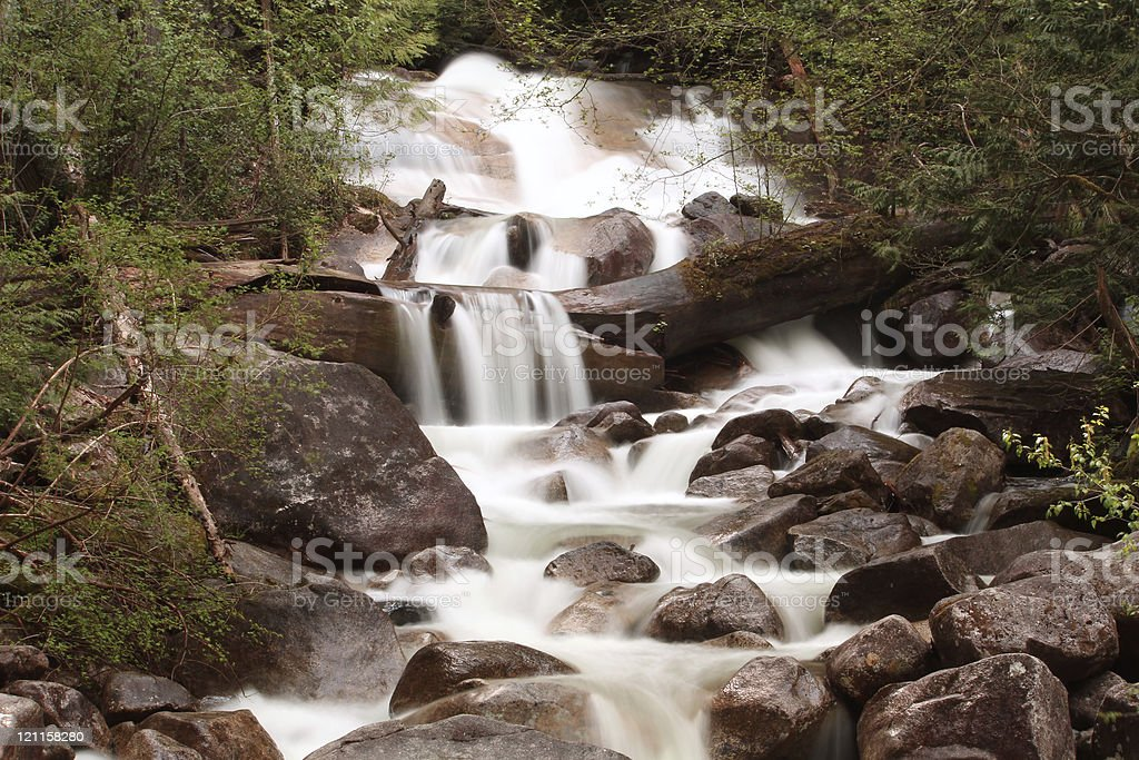 Shannon Falls, British Columbia stock photo