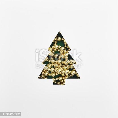 1064023690 istock photo Shape of christmas tree 1191427832