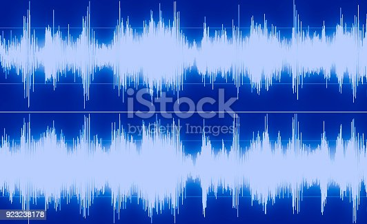 istock Shape of sound waves 923238178