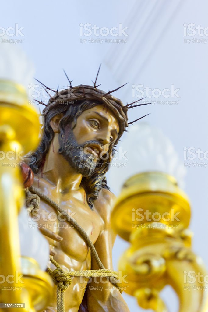 shaped christ religious images royalty-free stock photo