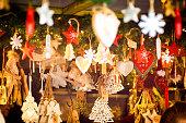 istock Shaped Christmas decorations 649484988