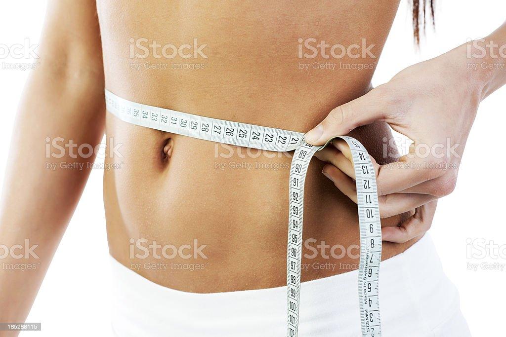 Shapely waistline. - foto de stock