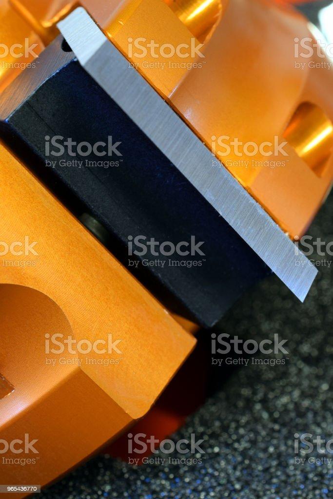 Shaper cutter head zbiór zdjęć royalty-free