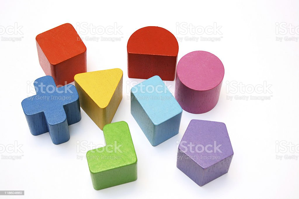 shapes and colors royalty-free stock photo