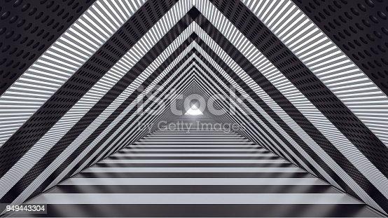 istock shape,triangle,3d render,3d illustration,urban,white,exit,entrance,structure,design,architecture,abstract,background,black,concept,corridor,cyber,cyberpunk,dark,data,digital,energy,fiction,future,futuristic,hole,illustration,interstellar,light,matrix,metr 949443304
