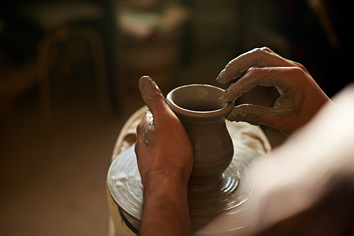 shaping pot
