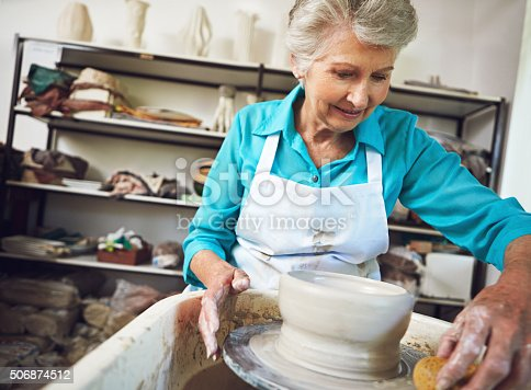 istock Shaping the retirement she loves 506874512