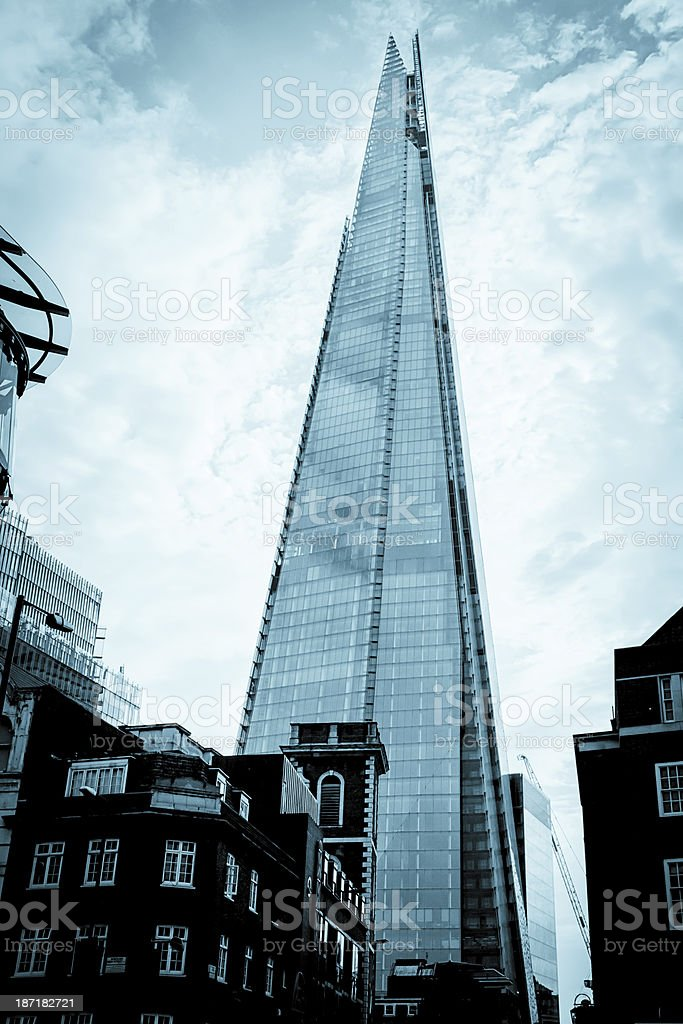 Shard Building in London royalty-free stock photo