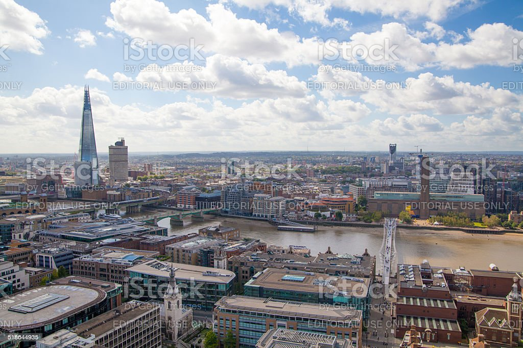 Shard of glass, London stock photo