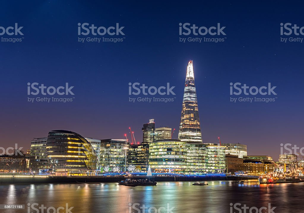 Shard of London stock photo