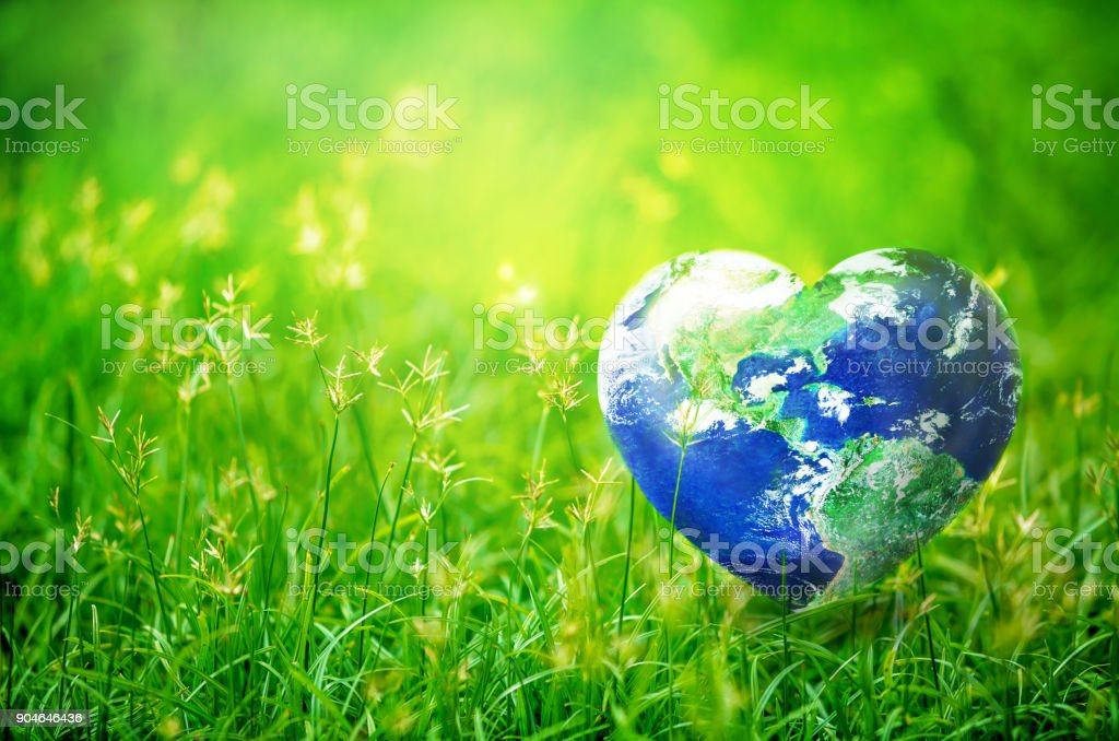 Share Love to the World stock photo