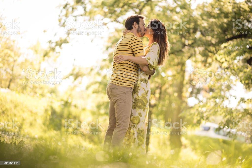 Share love with your woman. royalty-free stock photo