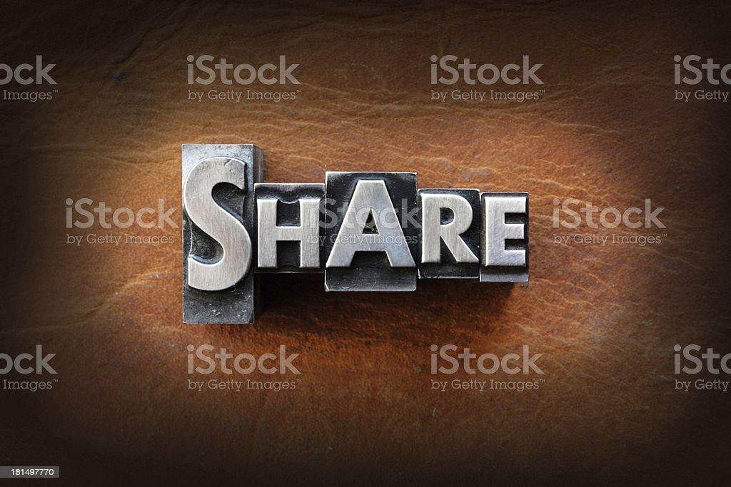 Share stock photo