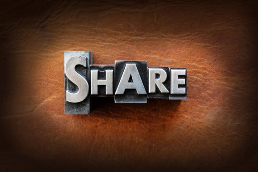 Share Stock Photo - Download Image Now