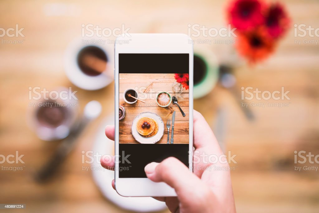 Share the moment royalty-free stock photo