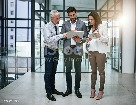 istock Shared knowledge brings shared success 629359188