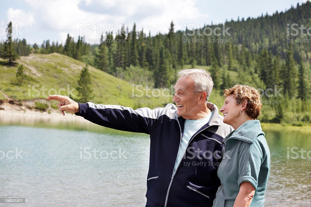 Shared laughter stock photo