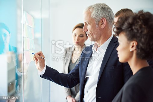 istock Shared solutions bring shared success 514710452