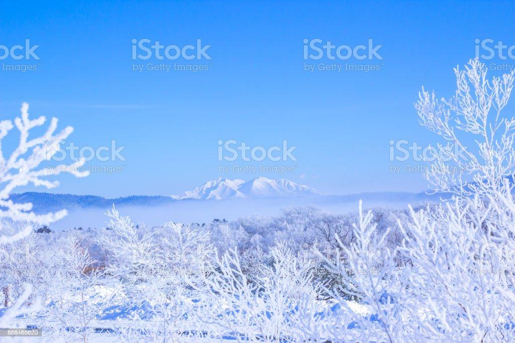 Shari-dake,Shiretoko Peninsula,Hokkaido,japan. royalty-free stock photo
