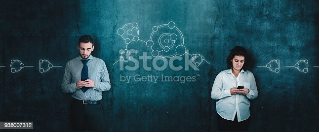 1016971522istockphoto Sharing a friends network on social media. 938007312