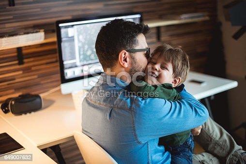 istock Sharing a hug 649007632